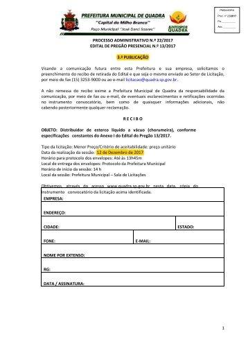 Edital Pregão Presencial PMQ 13_2017_distribuidor de esterco líquido