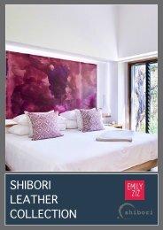 Shibori Leather Collection