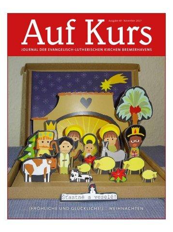 Kirchenjournal »Auf Kurs«, November 2017