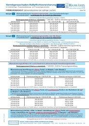 Vermögensschaden-Haftpflichtversicherung - VPV Makler