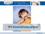 (ein Gesamtpreis) VPV Kinderschutzprogramm - VPV Makler