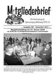 Ausgabe 287 - Dezember 2017