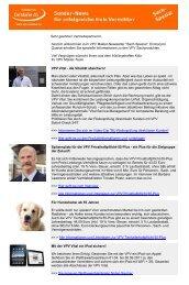 Sach-Newsletter April 2011 - VPV Makler
