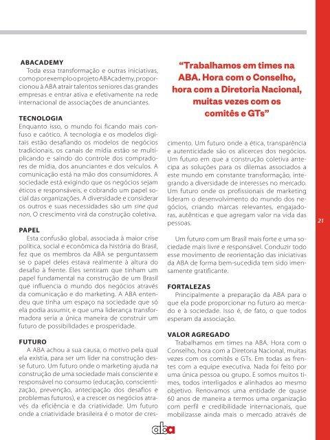 Revista ABA Novembro 2017