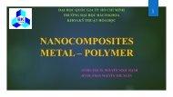 Tổng hợp nanocomposite trên cơ sở Ag/PVA bằng phương pháp hóa học với tác nhân khử là hydrazin hydrat