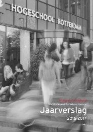 Jaaverslag integrale veiligheid Hogeschool Rotterdam 2016 / 2017