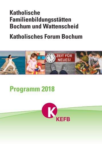 Bochum @KEFB Bistum Essen Programm 2018