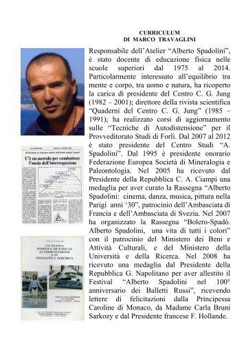 CURRICULUM Marco Travaglini pdf