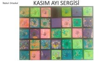 Kültür2000 Koleji Kasım Ayı Sergisi