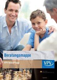 VPV VolksPflege Beratungsmappe - VPV Makler