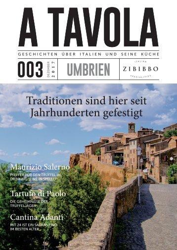"""""""A Tavola"""" Ausgabe 3 Umbrien"""
