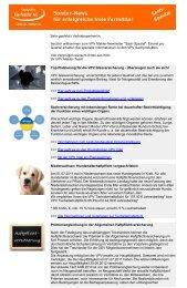 Sach-Newsletter Juli 2011 - VPV Makler
