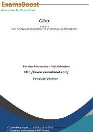 1Y0-311 Exam Software