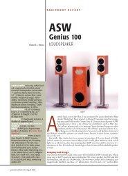 Genius 100 - ASW