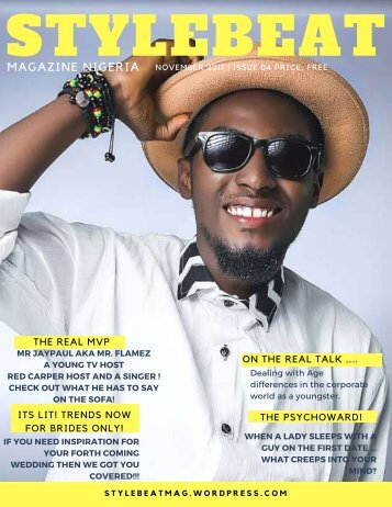 STYLEBEAT NOVEMBER 2017 LATEST EDITION