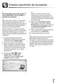 Sony VPCYB2M1E - VPCYB2M1E Guide de dépannage Roumain - Page 5