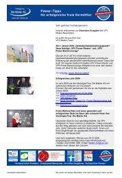 Newsletter Dezember 2009 (PDF) - VPV Makler