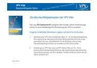 Die Berufsunfähigkeitsoption der VPV Vital - VPV Makler