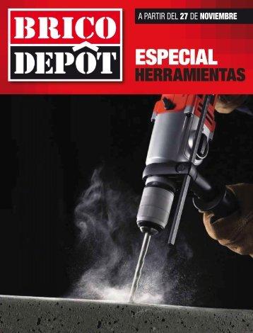 Brico Depot Especial herramientas hasta 15 de diciembre 2017