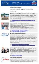 Newsletter Januar 2011 (PDF) - VPV Makler