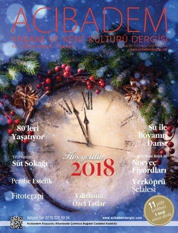 Sayı: 62 ACIBADEM Yaşam ve Kent Kültürü Dergisi