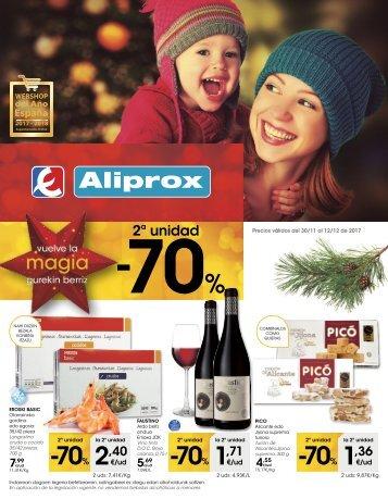 ALIPROX Ofertas del 30 de noviembre al 12 de diciembre 2017