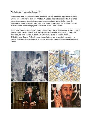 Atentados del 11 de septiembre de 2001