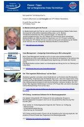 Newsletter Juli 2010 (PDF) - VPV Makler