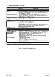 VPV Hausratversicherung: Tarifmerkmale - VPV Makler