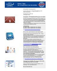 Newsletter August 2009 (PDF) - VPV Makler