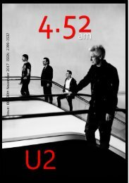 4.52am Issue: 061 The U2 Issue 30th Novemeber 2017