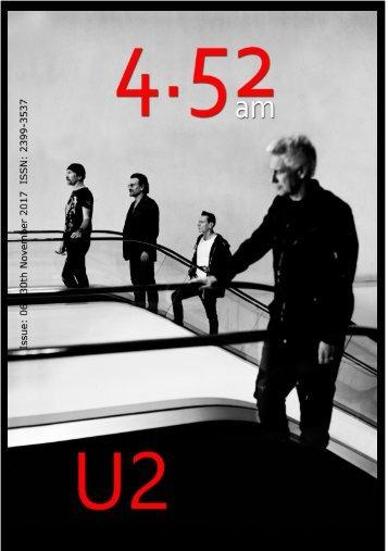 4.52am Issue: 061 The U2 Issue 30th Novemeber 2017
