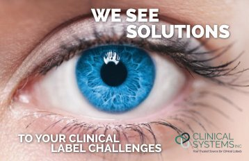 Clinical Systems Inc Booklet
