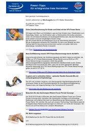 Newsletter Mai 2010 (PDF) - VPV Makler