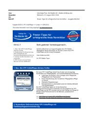 Newsletter August 2012 (PDF) - VPV Makler