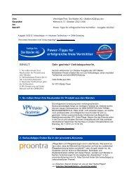 Newsletter Oktober 2012 (PDF) - VPV Makler