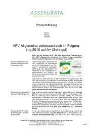 PM_VPV Allgemeine_2010 _final - VPV Makler