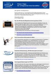 Newsletter Juli 2012 (PDF) - VPV Makler