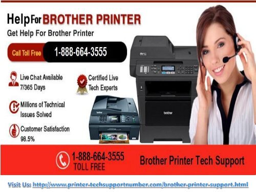Contact for Brother Printer Customer Help Number? 1-888-664-3555