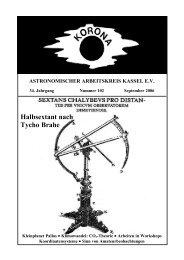 Halbsextant nach Tycho Brahe in der Türkei - Sternwarte Calden ...