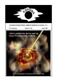 Aktive galaktische Kerne und ein neues Periodensuchverfahren