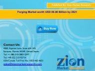 Forging Market, 2015 – 2021