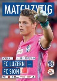 FC LUZERN MATCHZYTIG N°9 1718 (RSL 17)