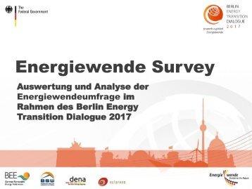 Energiewende Survey