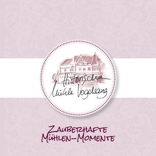 Booklet - Historische Muehle Vogelsang