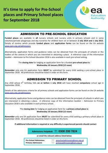 Poster 2018 Admissions