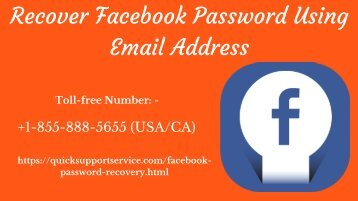Facebook Password Recovery Helper Email ID
