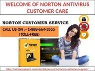 Facing Issues In installing Norton Antivirus? Call Us 1-888-664-3555 Norton Antivirus customer service