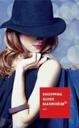 Mannheim - Shopping Guide 2017