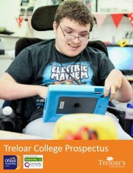 Treloar College Prospectus 2017-2018